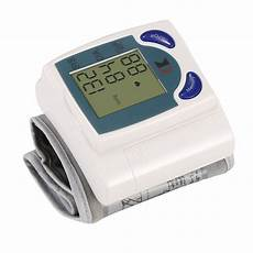 Do Automatic Blood Pressure Machines Read High   1pack blood pressure monitor wrist digital high blood pressure cuff heartbeat tester w 60