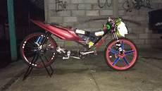 Modifikasi Motor Seperti Sepeda by Alasan Jomblo Pria Ini Modif Sepeda Jadi Seperti Motor