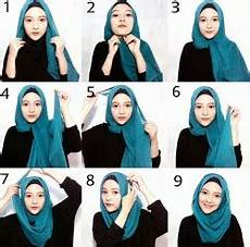 Tutorial Segi Empat Simple Wajah Bulat 8 Hijabyuk
