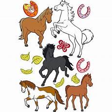 Ausmalbilder Bibi Und Tina Mit Pferde Wandtattoo Bibi Und Tina Pferde 14 Tlg Mehrfarbig