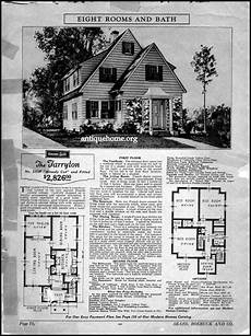 sears and roebuck house plans sears roebuck house the tarryton house plans with