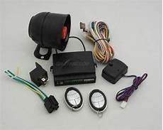 one way car alarm system with button of meta remote controller from china manufacturer