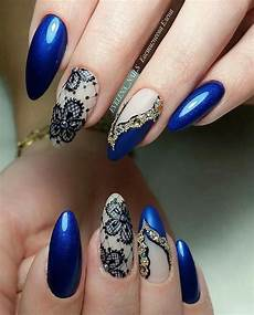 27 cute dark blue nail designs you ll love wordpress