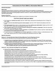form 3949 a information referral 2014 free download