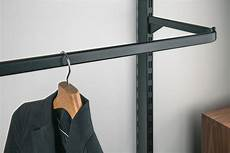 Clothes Hanger Rail Inclined Length 400 Mm Shoptec