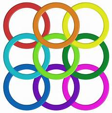 Colorful Pattern Band by Colorful Ring Pattern Free Vectors Clipart