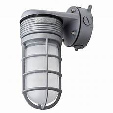 lithonia lighting gray outdoor integrated led vapor wall light olvtwm m6 the home
