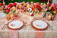 wedding decor inspiration rose gold wedding ideas