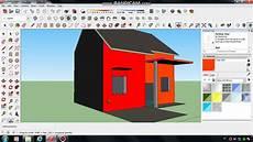 Tutorial Membuat Rumah Sederhana 3d Menggunakan Sketchup