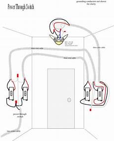 Wiring A Three Way Switch With Ceiling Fan Light Www