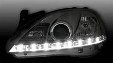 opel corsa c scheinwerfer headlights led drl look for opel corsa c 00 06 daylight