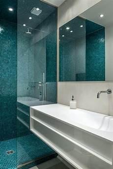 faience salle de bain salle de bain bleu turquoise peinture carrelage salle de