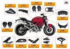 kohlefaser motorrad teile f 252 r ducati 696 teile des