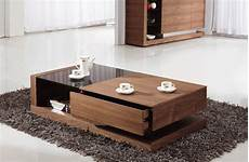 Designer Couchtisch Holz - 3 best materials for your coffee table with storage