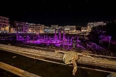 coppola illuminazione napoli il rospo e il tempio di serapide illuminato la foto