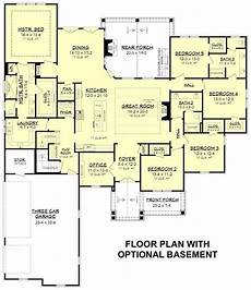 5 bedroom craftsman house plans 142 1199 floor plan basement craftsman style house