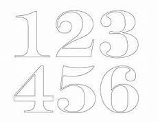 Painted House Numbers Templates Patterns House