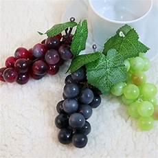 deko apfel weiß venkaite 2pc deko kunststoff weintrauben wein trauben