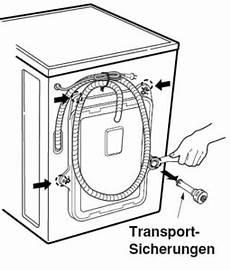 Waschmaschinen Transportsicherung Funktion Und Nutzen