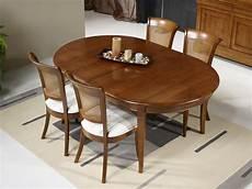 table ovale avec rallonge chene massif table ovale 180x120 en merisier massif de style louis