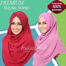 54 Model Jilbab Instan Untuk Wajah Bulat