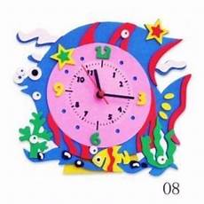 mira como hacer un reloj en foami de formas diferentes