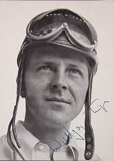 Wolfgang Graf Berghe Trips Original Autographed B W