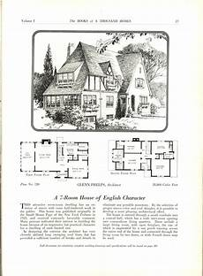 storybook cottage house plans the books of a thousand homes vol 1 vintage house