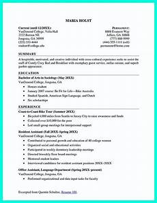 nice cool sle of college graduate resume with no experience resume template student