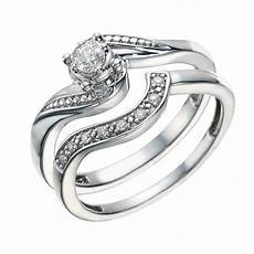 wedding rings samuel jewellers argentium silver 0 15 carat diamond bridal ring h samuel