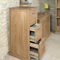 solid oak home office furniture mobel solid oak 3 drawer filing cabinet drawer filing