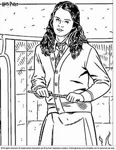 ausmalbilder harry potter ginny weasley coloring pages