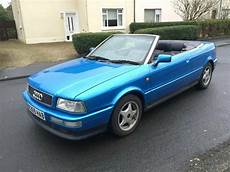 audi 80 cabrio 1998 blue audi 80 cabriolet 1 8 with 1 years mot