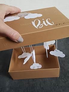 diy geschenk box zur geburt oder taufe kreativ