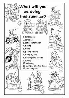 what will you be doing this summer worksheet free esl printable worksheets made by teachers