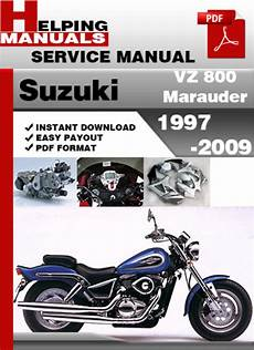 free online car repair manuals download 1997 suzuki swift interior lighting suzuki vz 800 marauder 1997 2009 service repair manual download d