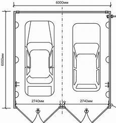 optimale breite doppelgarage dimensiones garaje 2 coches simple dimensiones garaje 2