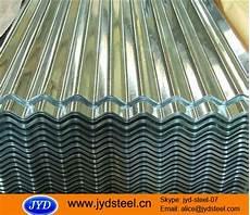 clear spangle corrugated galvanized iron sheet cgi with