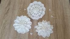Ohne T 252 Ten Sterne Und Blumen Aus Butterbrotpapier Basteln