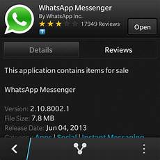 download whatsapp in black berry miturne