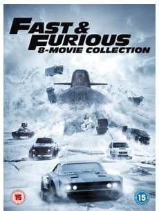 Fast Furious 8 Collection Rob Cohen Paul Walker