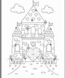 princess castle colouring page castle coloring page