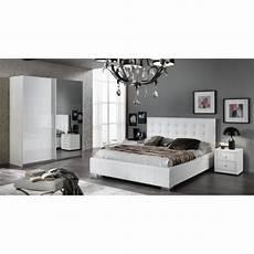 chambre meuble blanc chambre a coucher moderne laqu 233 blanc brillant achat