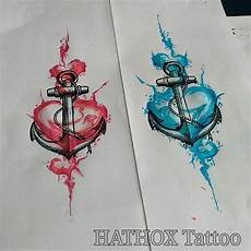 Studies For Anchor And Watercolor Anchor
