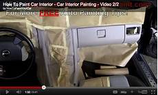 how to paint your car interior car interior painting