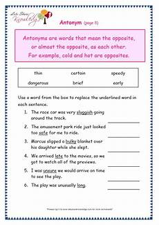 antonyms worksheets for grade 3 with answers grade 3 grammar topic 28 antonyms worksheets lets share knowledge