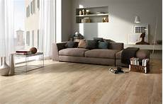 wood effect floor tiles give living rooms timber plank