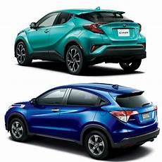 Toyota C Hr Versus Honda Vezel Torque