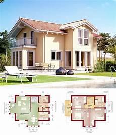 Stadtvilla Mediterraner Landhausstil Haus Evolution 122