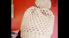 tutoriel bonnet au tricotin en point 8 tricot